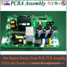 Assemblée de carte PCB multicouche d'usine de Shenzhen avec l'ENIG pour l'ensemble de carte PCB de 6 couches de produits de sécurité