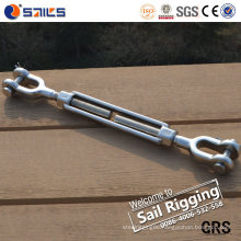 Us Type Stainless Steel 316 Jaw & Jaw Turnbuckle