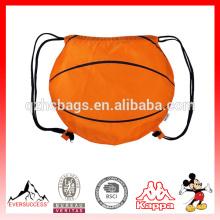 Mochila bonito do cordão do basquetebol com logotipo personalizado