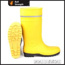 Safety PVC Rain Boot with Reflective Stripe (SN5128)
