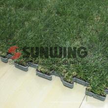 Поделки сплит совместное напольный блокируя газонной травы коврик
