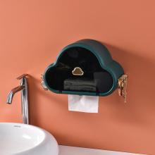 Waterproof Adhesive Toilet Paper Holder Box