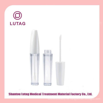 Verpackungen für leere Kunststoff-Lasche Lip gloss Verpackung