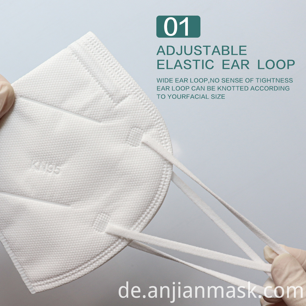 Non-Woven KN95 Face Earloop Mask