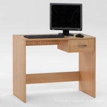 Table d'ordinateur maison en bois à assembler facile à vendre (HF-D006)