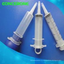 Одноразовых стерильных Ирригационных/клизма шприц с пластичным материалом