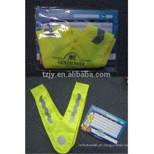vestuário de alta visibilidade reflexiva da segurança de crianças