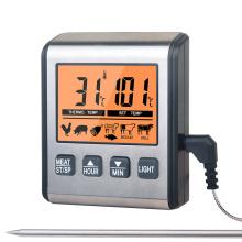 Grand affichage de thermomètre de gril numérique sûr de four à micro-ondes