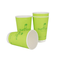 food grade ODM custom logo hot sale paper cup disposable compostable from anhui anqing