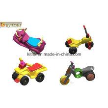 Modelo de plástico moldeado Pull Back Toy Cars Kids OEM ICTI