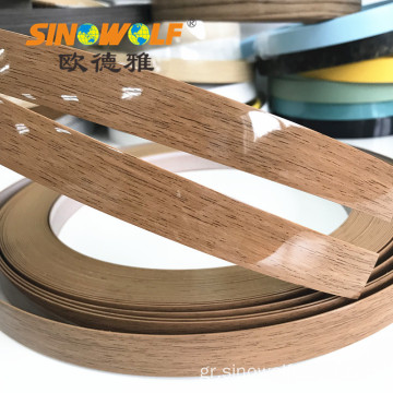 Δημοφιλή λωρίδα ABS Edge Banding High Gloss Strip