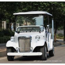 8 assentos preto moda tipo carro clássico elétrico barato para venda 48V CE