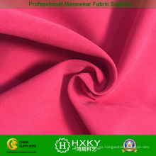 Tela de nylon cepillada de la piel del melocotón del poliéster para la ropa del invierno