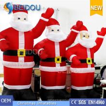Inflables Publicidad Santa Giant Inflables Navidad Santa Claus