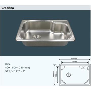 Wholesale Kitchen Lab Stainless Steel Hand Wash Sink