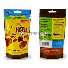 Potato chips packaging bags with custom printing PET/VMPET/CPP material