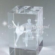 Кристалл куб с рисунка на коньках