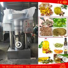 Almond Sesame Peanut Walnut Mini Oil Mill Groundnut Machine