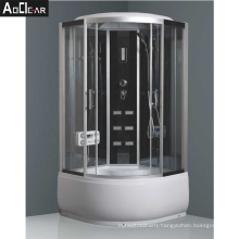Aokeliya Steam Room Shower Cubicle with Jets and Sliding Door