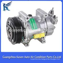 12V electric auto ac sd6v12 sanden compressor for PEUGEOT 206/307, CITROEN C2 /BERLINGO, PARTNER SD1439, SD1438, SD1430