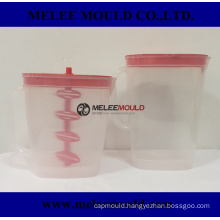 Plastic Pitcher Mould with Two Interchangable Inserts Lid