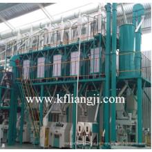 Máquina de moagem de farinha de milho, planta de processamento de trigo, moinho de moagem de milho