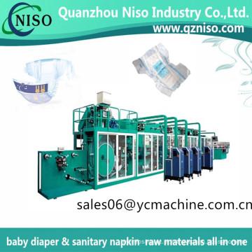 Máquina de fraldas normais de proteção-vazamento de máquina de fraldas de bebê de economia