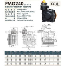 Elevator Traction Machine(PMG Series)
