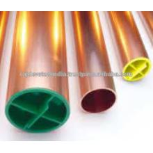 Racor de tubo de codo de cobre