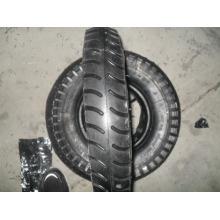 Roue en caoutchouc, pneu de brouette de roue 4.00-8 pneu de brouette de roue