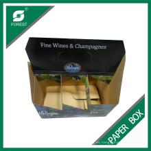 Fábrica personalizada Six Pack botellas de botellas de vino
