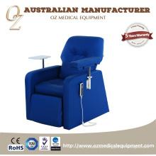 Silla de infusión intravenosa eléctrica silla silla de rehabilitación de sangre transfusión