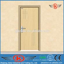 JK-P9008 MDF profil de porte en pvc en bois