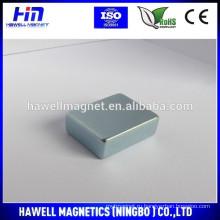 Малые блочные магниты с цинковым покрытием