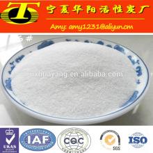 Raw white aluminium oxide glass polishing powder