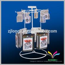 Hangzhou fabricación de saludo de Navidad post tarjeta de exhibición de la pantalla