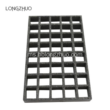 Non Slip Fiberglass Cover Grating for overflow