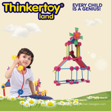 Colorful Hard Plastic Girl Educational Toy