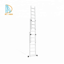 3 sections Aluminum Combination Extension Ladders 3*11steps