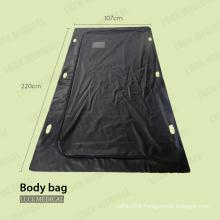 PVC plastic Body bag with handle