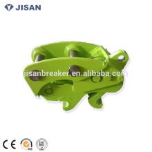 mini-bobcat pelle excavatrice attachement hydraulique couplage rapide coupleur pour pelle