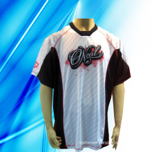 100% Polyester Man′s Short Sleeve Motorcycle Wear