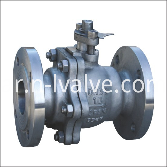 3-metal seated floating ball valve