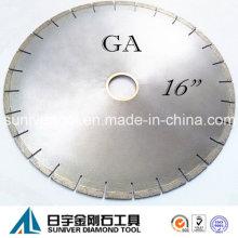"""GA 16"""" Diamant-Trennscheibe, kreisförmigen Sägeblatt für Schneiden Granit"""