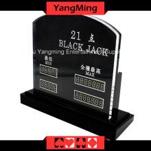 Limite de table électronique LED Blackjack (YM-LC07)