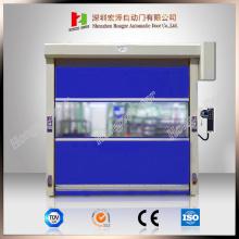 Industrial Automatic PVC Fabric Rapid Shutter Door