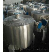Intercambiador de calor de placas en espiral