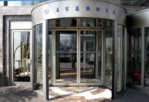 Two-wing Revolving Doors for International Buildings