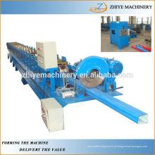 Novo Condicionado Usado Gutter Roll Forming Machine