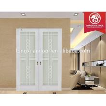 Conception de portes coulissantes résidentielles de cuisine